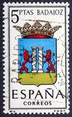 Arms of Provincial Capitals shows Badajoz — Stock Photo