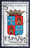 Arms of Provincial Capitals shows Palencia — Stock Photo