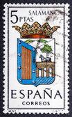 Arms of Provincial Capitals shows Salamanca — Stock Photo