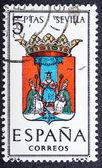 Arms of Provincial Capitals shows Sevilla — Stock Photo