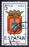 Arms of Provincial Capitals shows Soria — Stock Photo