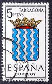Arms of Provincial Capitals shows Tarragona — Stock Photo