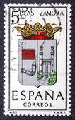 Arms of Provincial Capitals shows Zamora — Stock Photo