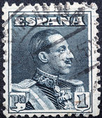King Alfonso XIII — Stock Photo