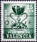 Coat of arms of Valencia — Stock Photo