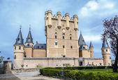 塞戈维亚城堡 — 图库照片