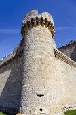 Castle of  Villafuerte of Esgueva — Stockfoto