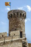 Turm tossa de mar, spanien — Stockfoto
