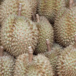 Stock Photo: Fresh durians fruits