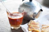Thai hot tea — Stock fotografie