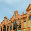 Old building renovate with new color in songkhla, thailand — Stock Photo