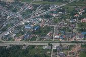 Strada e città nel sud thailandia — Foto Stock