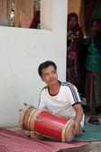 Yala, Tailândia - 9 de fevereiro: yala não identificado raman dagg islâmica — Fotografia Stock