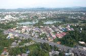 Cityscape of yala city, thailand — Stock Photo