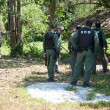 Stock Photo: YALA, THAILAND - FEBUARY 23: Explosive Ordnance Disposal Police