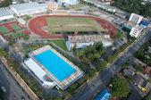 Yala yala, Tayland spor alanında Yüzme Havuzu — Stok fotoğraf