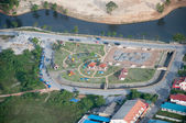 YALA, THAILAND - DECEMBER 5: Baemao Park and lake of yala city, — Stock Photo