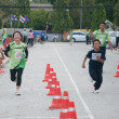 Stock Photo: YALA, THAILAND - SEPTEMBER 30: Yalmini half marathon runners r