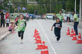 YALA, THAILAND - SEPTEMBER 30: Yala mini half marathon runners r — Stock Photo