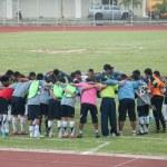 YALA, THAILAND - OCTOBER 10: Yala FC Youth football player meet — Stock Photo