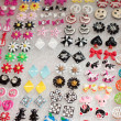 Colorful earings for sell — Stockfoto