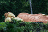 Sleeping buddha statue at krabi, thailand — Stock Photo