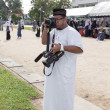 Stock Photo: YALA, THAILAND - AUGUST 8 : Amad Ramansiriwong take photo for pr