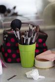 Make up brush many size — Stock Photo