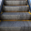 Escalators floor — Stock Photo
