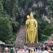Stock Photo: World's tallest statue of Murugan, Hindu deity