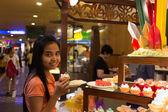 Cake and Bakery Buffet — Stock Photo