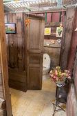 Decorazione di interni bagno stile vintage — Foto Stock