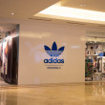 Постер, плакат: KUALA LUMPUR MALAYSIA SEP 27: adidas shop in Suria Shopping M