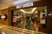 KUALA LUMPUR, MALAYSIA - SEP 27: HARLEY-DAVIDSON shop in Suria S — Stock Photo