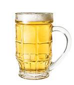 Beer mug isolated on white background — Stock Photo