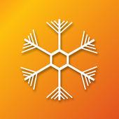 Christmas applique background — Stock Vector
