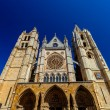 Royalty-Free Stock Photo: Cathedral of Leon, Spain