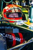 Team Catherham F1, Jarno Trulli, 2012 — Stock Photo