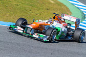 Team Force India F1, Nico Hülkenberg, 2012 — Foto de Stock