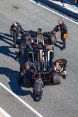 Team Lotus Renault F1, Romain Grosjean, 2012 — Stock Photo