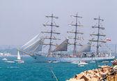 Ship Dar Mlodziezy — Stock Photo