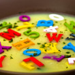 Alphabet soup — Stock Photo #13487041