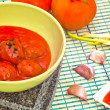 Meatballs with tomato sauce — Stock Photo #13487059