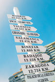 Directional Sign — Stock Photo