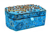 Blue jewel-box — Stockfoto
