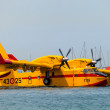 Seaplane Canadair CL-215 — Stock Photo #13887554
