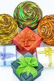 Gift boxs — Stock Photo