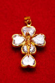 Pendant of a crucifix — Foto Stock