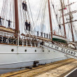 Ship Juan Sebastian de Elcano - Stock Photo
