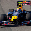 Foto de Stock  : Team Red Bull Racing F1, Mark Webber, 2011